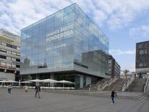 Новый музей изобразительных искусств в Schlossplatz, Штутгарте Стоковое Изображение RF