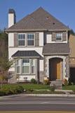 Новый дом в Wilsonville Орегоне Стоковые Изображения