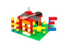 Новый дом и ключ Стоковые Фото