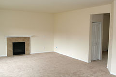 Новый дом пустой комнаты Стоковые Фотографии RF