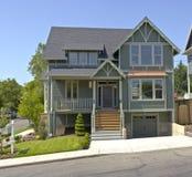 Новый дом для продажи Портленд Орегон Стоковые Изображения