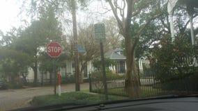 Новый Орлеан расположенный на окраине города стоковые изображения rf