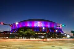 Новый Орлеан Superdome стоковая фотография rf