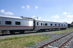 Новый пассажирский автомобиль поезда отсутствие 10 и 11 Стоковые Изображения RF