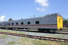 Новый пассажирский автомобиль поезда отсутствие 10 и 11 Стоковые Изображения