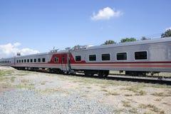 Новый пассажирский автомобиль поезда отсутствие 10 и 11 Стоковая Фотография RF