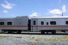Новый пассажирский автомобиль поезда отсутствие 10 и 11 Стоковая Фотография