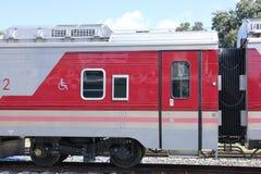 Новый пассажирский автомобиль поезда отсутствие 10 и 11 Стоковые Фото