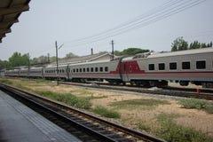 Новый пассажирский автомобиль поезда отсутствие 10 и 11 Стоковое Фото