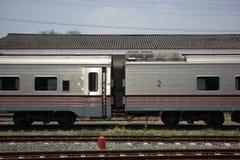 Новый пассажирский автомобиль поезда отсутствие 10 и 11 Стоковое Изображение