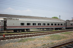 Новый пассажирский автомобиль поезда отсутствие 10 и 11 Стоковое фото RF