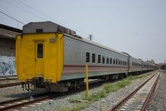 Новый пассажирский автомобиль поезда отсутствие 10 и 11 Стоковые Фотографии RF