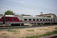 Новый пассажирский автомобиль поезда отсутствие 10 и 11 Стоковое Изображение RF