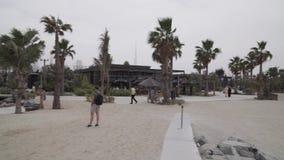 Новый пляж и развлечения размечают видео отснятого видеоматериала запаса Mer Ла сток-видео