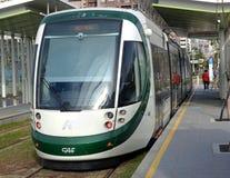 Новый поезд рельса света Kaohsiung Стоковые Фото