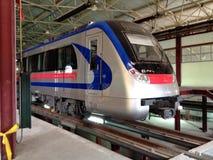 новый поезд Стоковые Фотографии RF