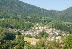 Новый район Smolyan в Болгарии Стоковое Изображение RF