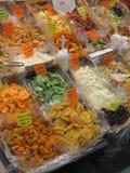 Новый рынок в Флоренсе, Италии Стоковое Изображение RF