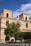 Новый собор Cuenca, эквадора Стоковая Фотография RF