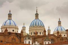 Новый собор Cuenca эквадор Стоковое фото RF