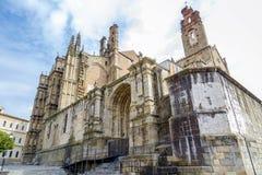Новый собор Plasencia, эстремадуры Испании Стоковые Изображения
