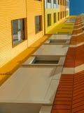 Новый современный низкий комплекс апартаментов подъема moscow Россия Стоковое Фото
