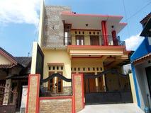 Новый современный дом, дом для семьи Стоковые Изображения