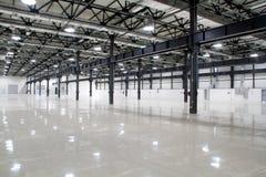 Новый современный storehouse Стоковые Фото