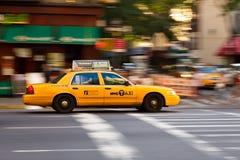 новый таксомотор york Стоковые Фото