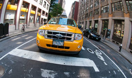 новый таксомотор york Стоковые Изображения RF