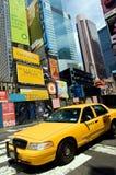 новый таксомотор york Стоковое Фото