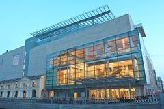 Новый театр Mariinsky, Санкт-Петербург, Россия Стоковое фото RF