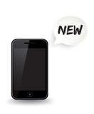 Новый умный телефон Стоковые Изображения RF