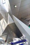 Новый центральный железнодорожный вокзал в вене Стоковое фото RF