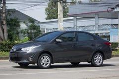 Новый частный автомобиль Тойота Yaris ATIV Eco автомобиля седана Стоковые Изображения