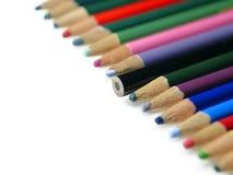 Новый черный карандаш цвета Стоковое Изображение