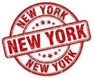 новый штемпель york иллюстрация штока