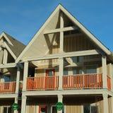 Новый дом домов для сбывания Стоковое Фото
