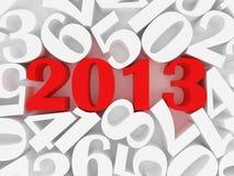 Новый 2013 года Стоковое Изображение