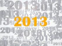 Новый 2013 года Стоковые Фото