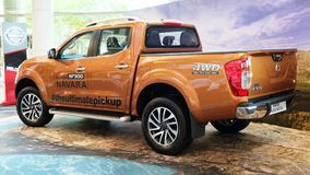 Новый Datsun Navara Стоковое фото RF