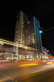 Новый Hilton Hotel (Zoofenster) в Западном Берлине Стоковое фото RF