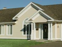 новый townhouse стоковая фотография