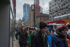 2015 Новых Годов Таймс площадь Eve Стоковые Изображения