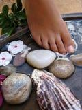 нога ванны 2a стоковое изображение