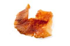 Нога жареного цыпленка Стоковая Фотография