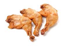 Нога жареного цыпленка Стоковые Фотографии RF