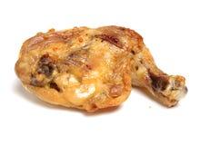 Нога жареного цыпленка Стоковые Изображения