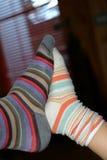 нога к Стоковая Фотография RF