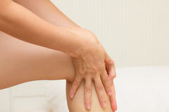 Нога массажа Стоковое фото RF
